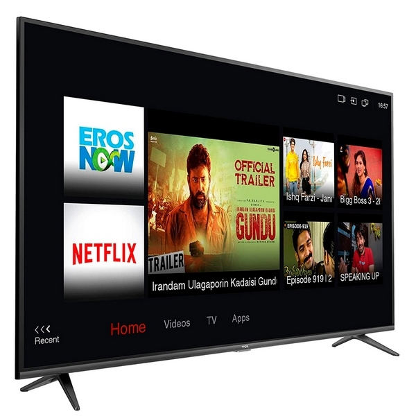 "Tv 55"" Smart Tcl Linux-"