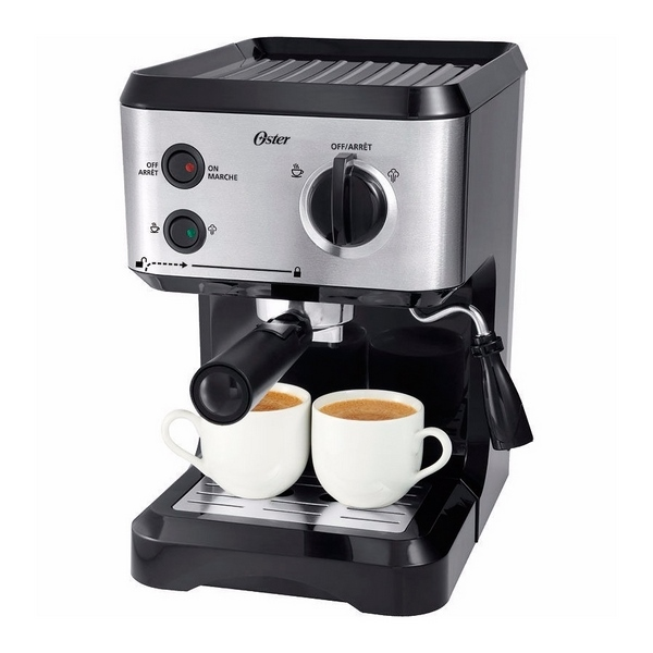 Cafetera Expresso Oster 15 Bares Inox